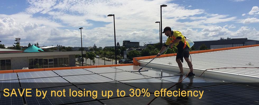 Cleaning solar panels Australia