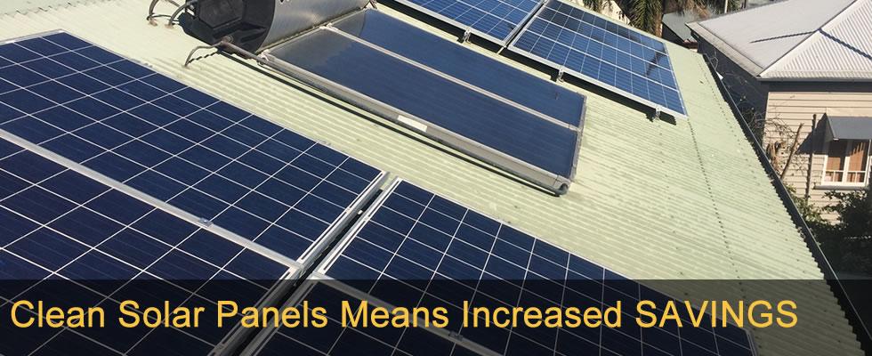 Clean Solar Panels Means Increased SAVINGS