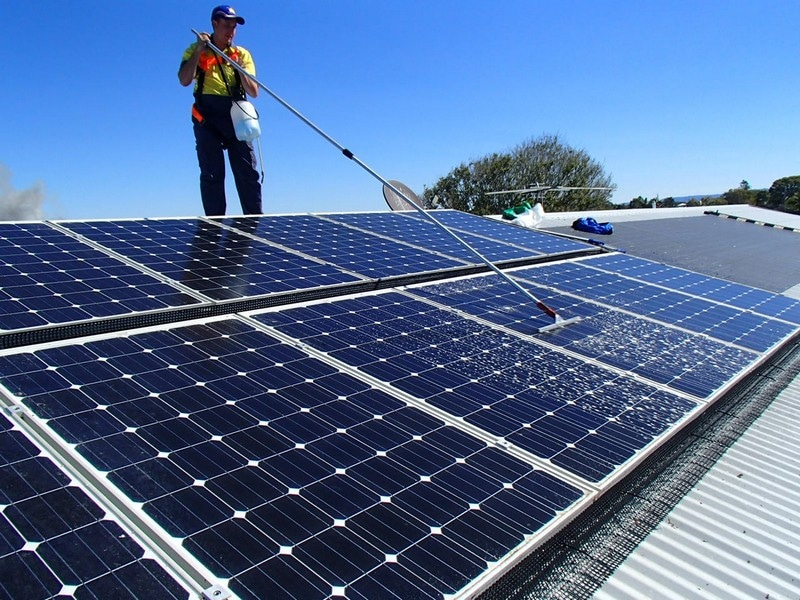Caloundra Solar Panel Cleaning