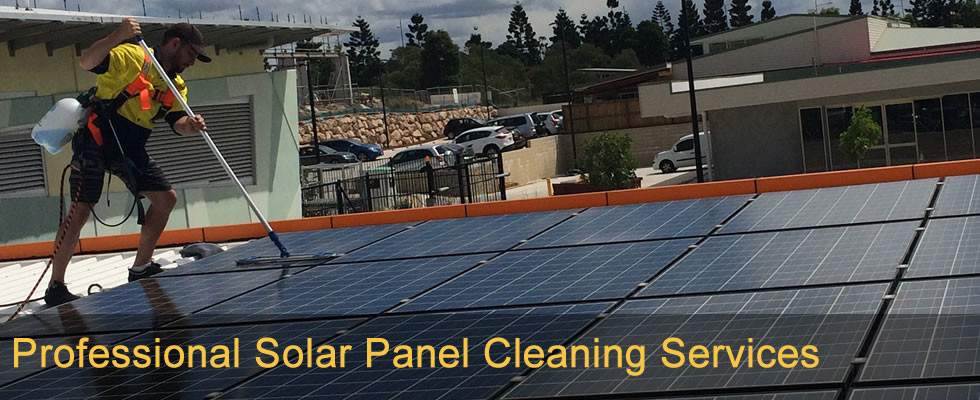 Professional Solar Panel Cleaning Services