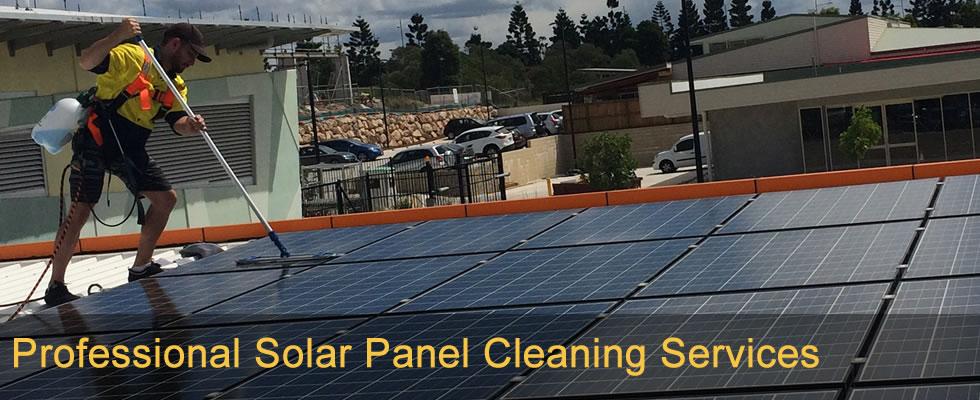 Brisbane Solar panel cleaning